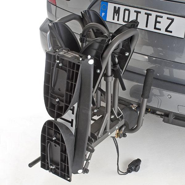 Attelage Mottez 2 Vélos électrique Porte Vélo A023p2elec