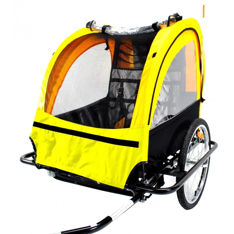 Remorque adam – Location et vente de remorque de transport  d'enfants – baby van