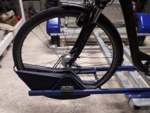 Remorque adam - support vélo protection anti vibration pour vélo de route